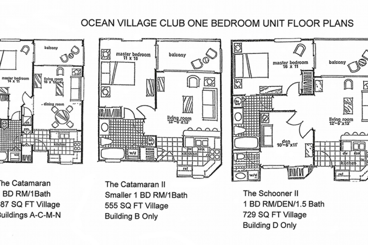 Ocean Village Club One Bedrooms