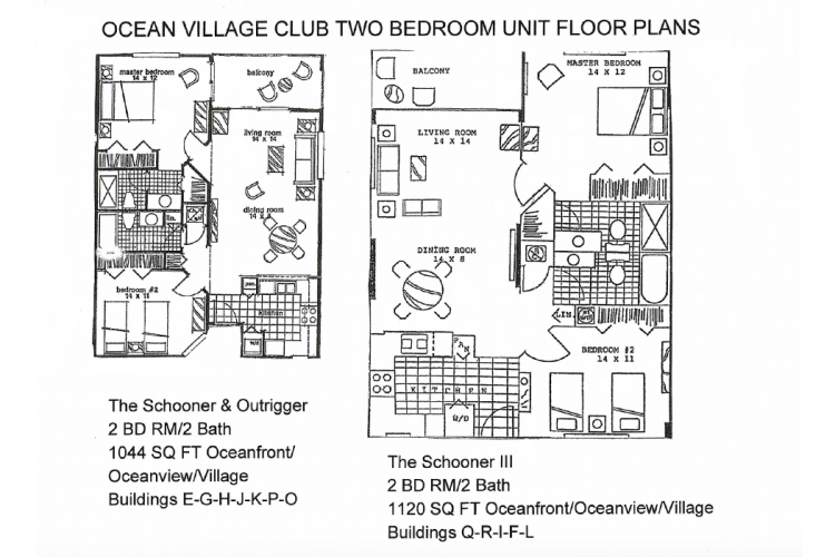 Ocean Village Club Two Bedrooms